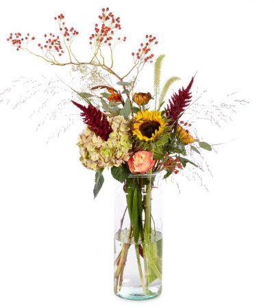 natuurlijk bloemen plukboeket woerden