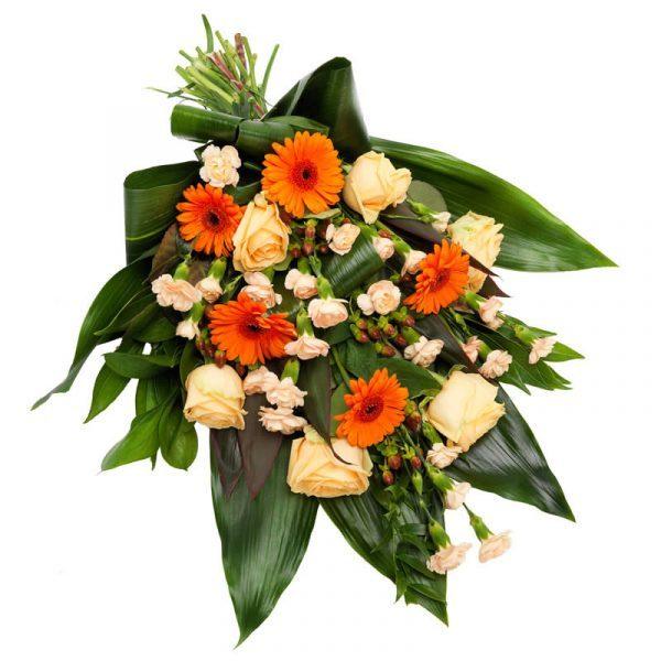 rouwboeket bestellen bezorgen bloemist woerden