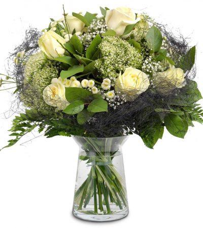 rouwboeket condoleance boeket bezorgen in woerden of utrecht