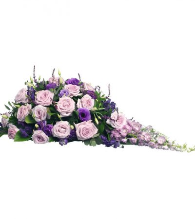 kistbedekking rouwstuk woerden bloemist. natuurlijk bloemen
