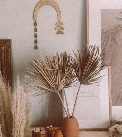 palmbladeren in het goud bestellen