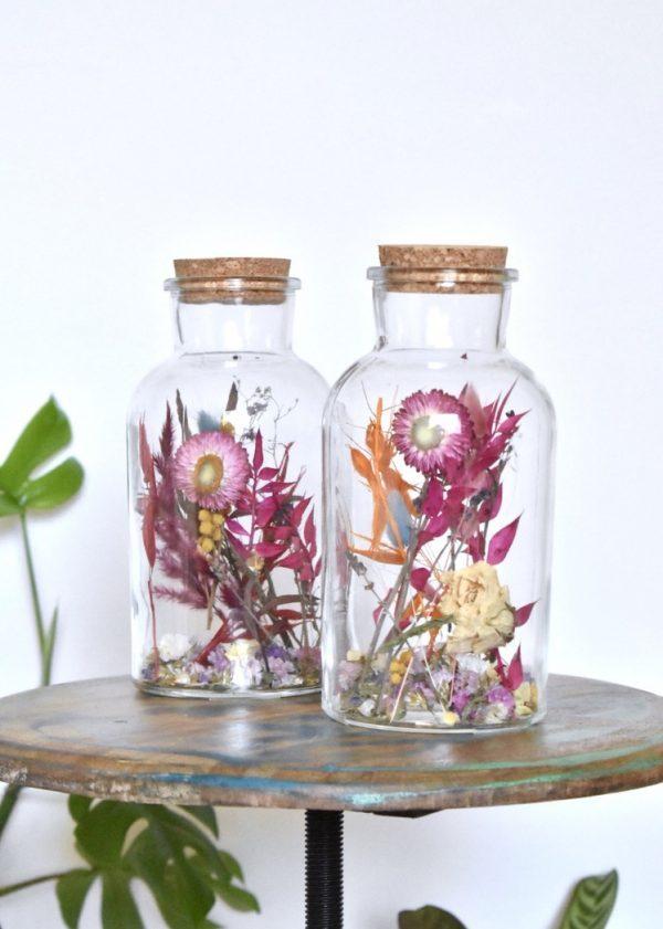 Droogbloemen in vaas