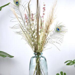 lang droogbloemen boeket