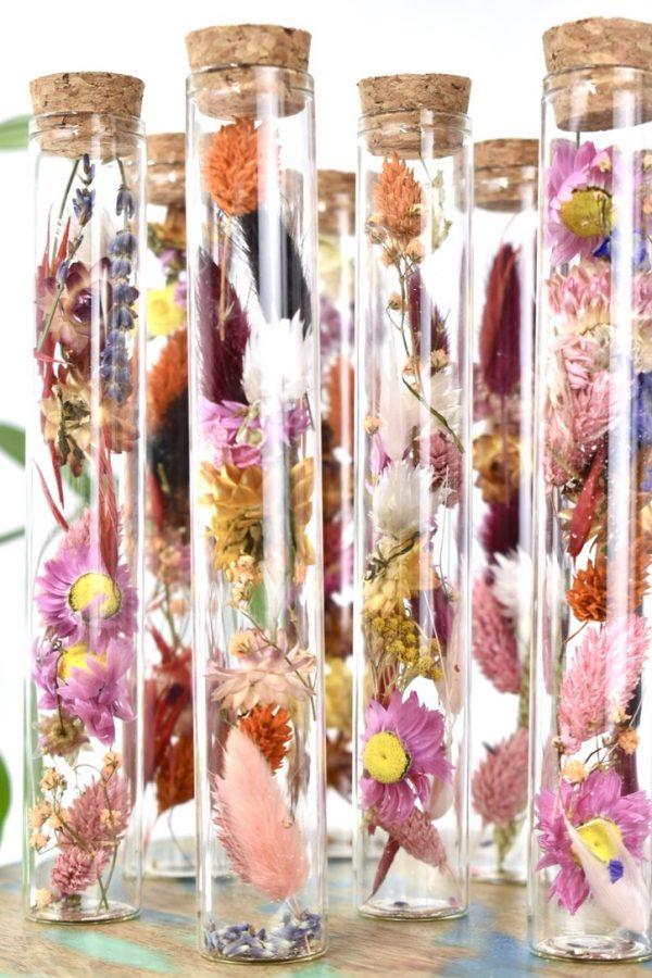 droogbloemen in buisje