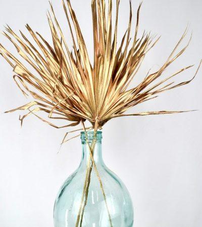 palmbladeren goud kerst item