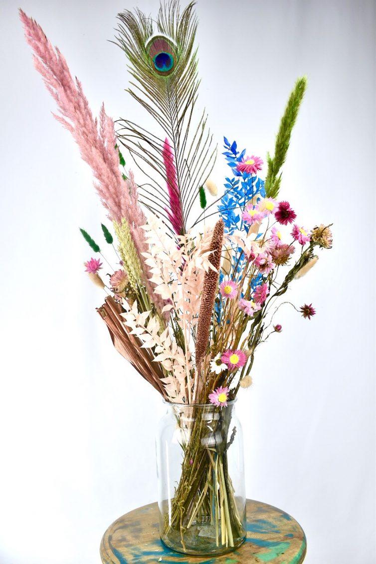 kleurrijke droogbloemen bestellen