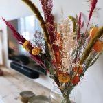 droogbloemen boeket natuurlijk bloemen