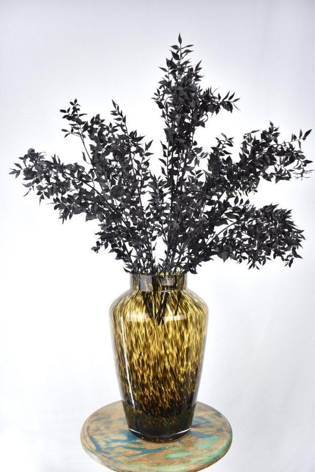 zwarte droogbloemen