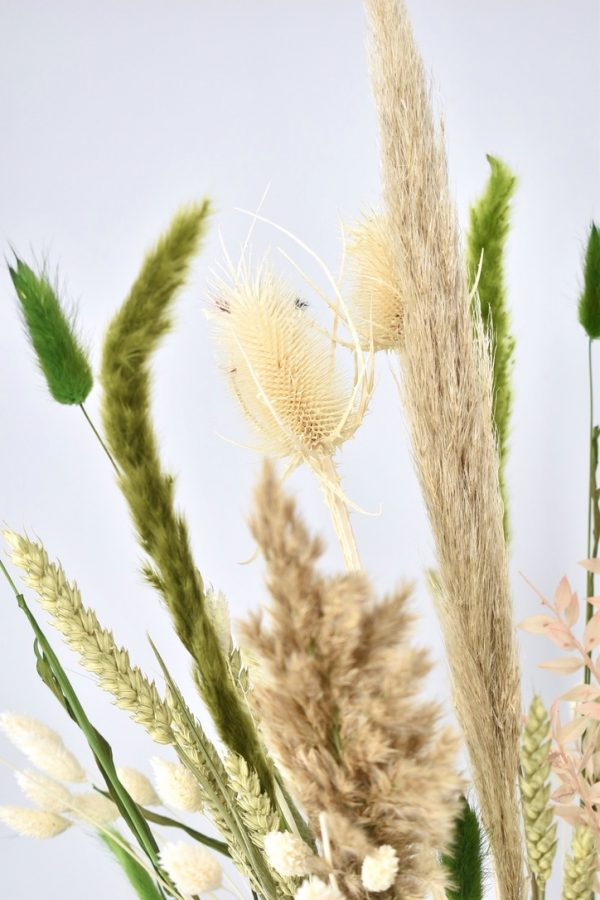 droogbloemen boeket met pampas
