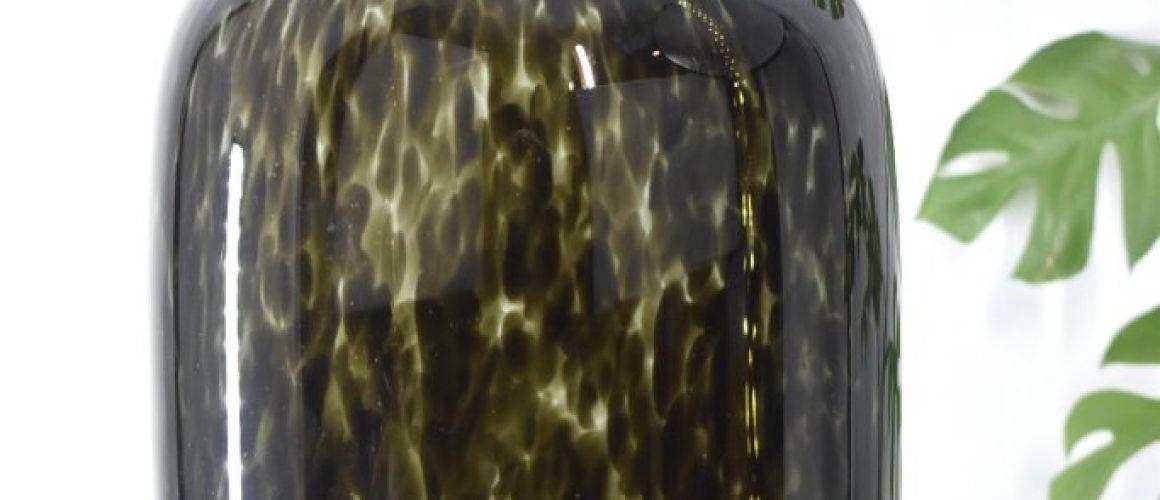 Cheetah Vaas Grey