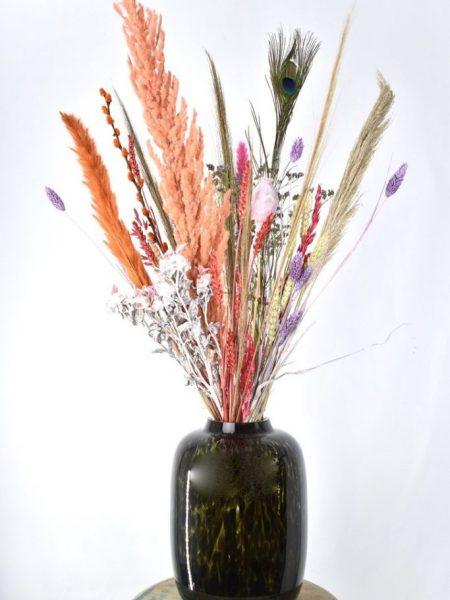 droogbloemen met vaas kopen