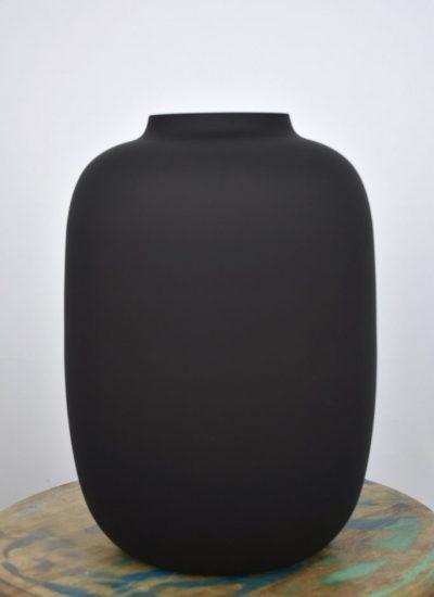 droogbloemen vaas black