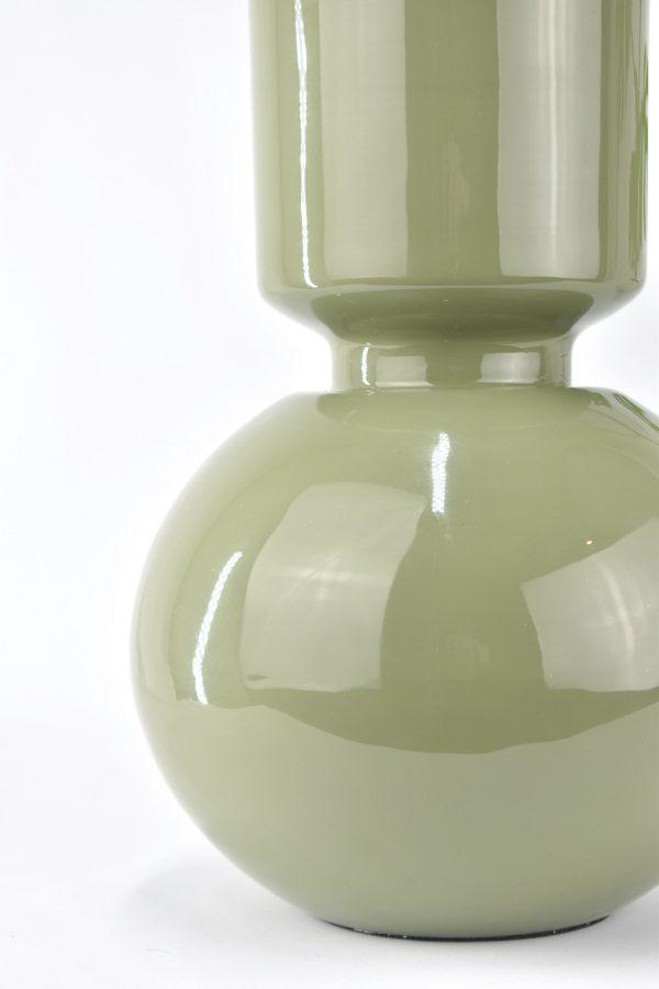 droogbloemen vaas in het groen