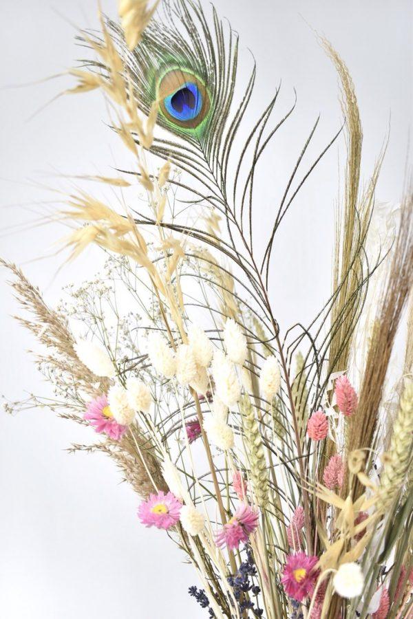 droogbloemen boeket bestellen met rustige kleuren