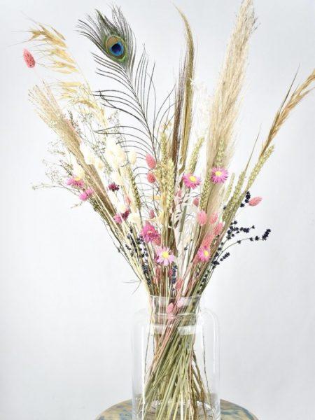 droogbloemen boeket kopen met rustige tinten