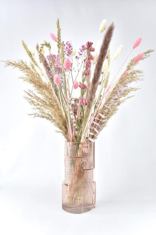 droogbloemen met vaas bestellen