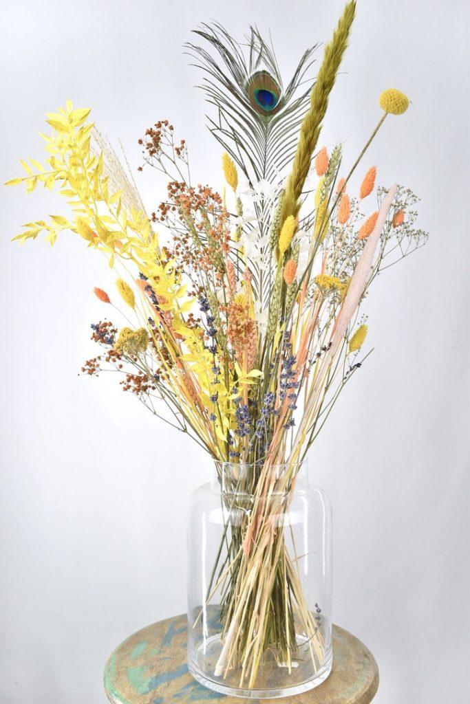 droogbloemen kleurrijk zomerboeket