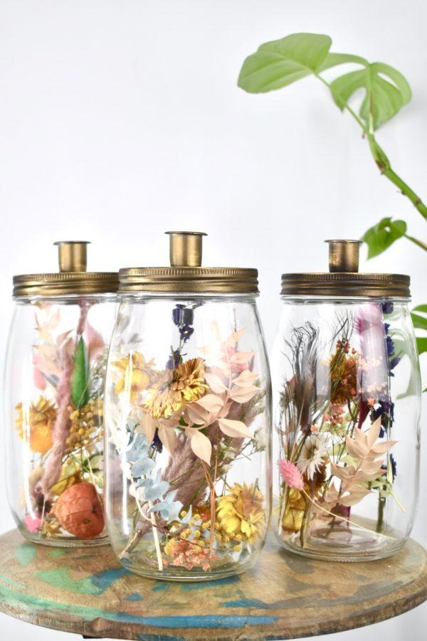 droogbloemen fles