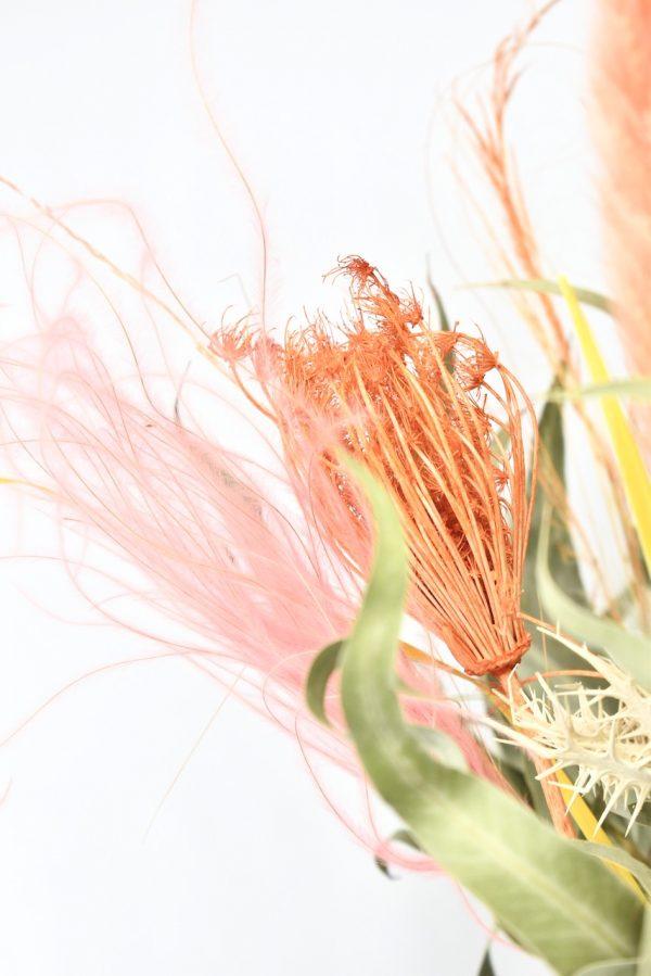 droogbloemen boeket kopen met zomerse kleuren