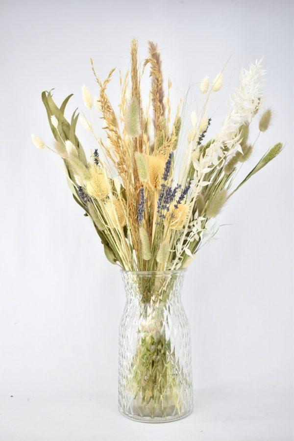 droogbloemen in natuurtinten