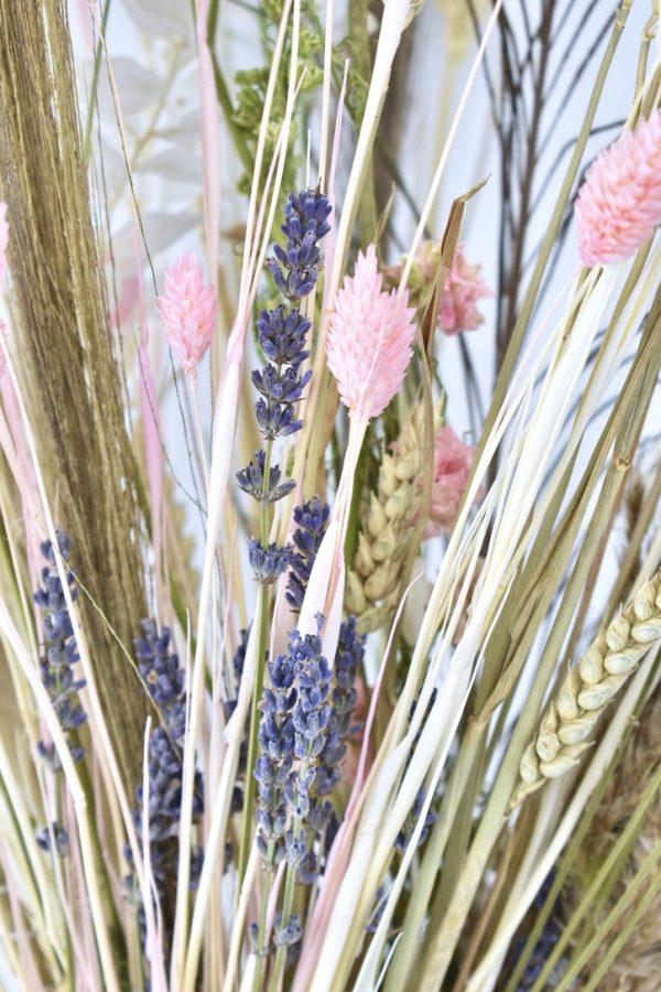details droogbloemen boeket