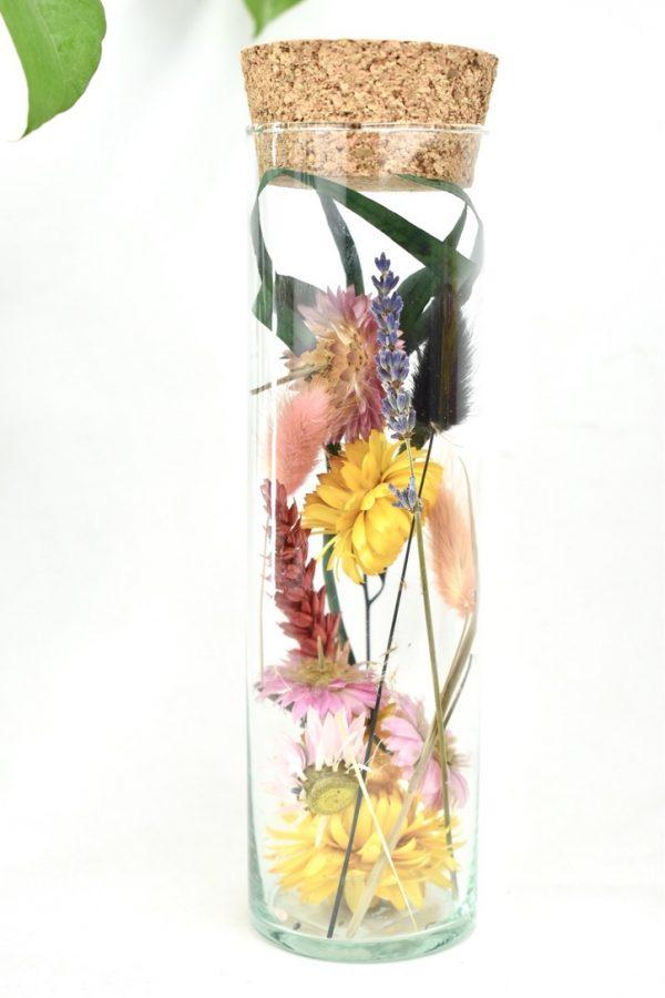 droogbloem cilinder als cadeautje voor vriendin