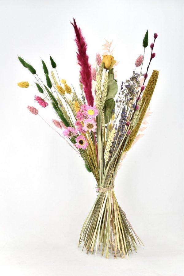 droogbloemen mix van kleuren