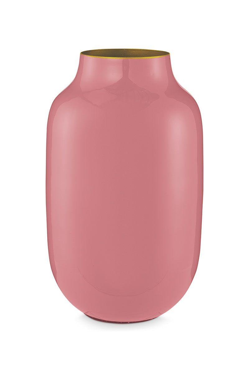 roze vaas voor bloemen bestellen