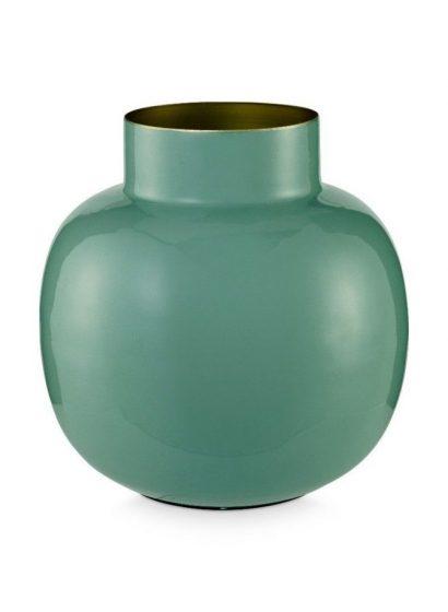 groene vaas voor droogbloemen